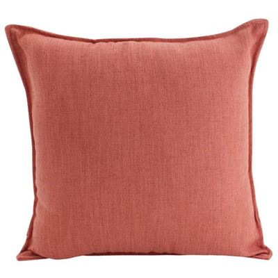 Linen Rust Cushion 45x45cm