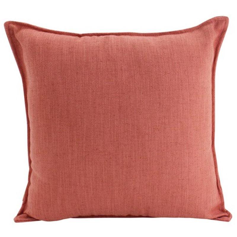 Linen Rust Cushion 45x45cm