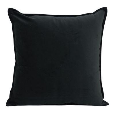 Velvet Cush Black 45x45cm
