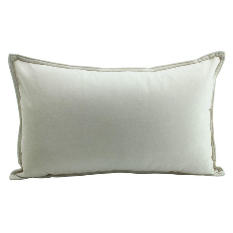 Velvet Cushion Champagne 30x50cm