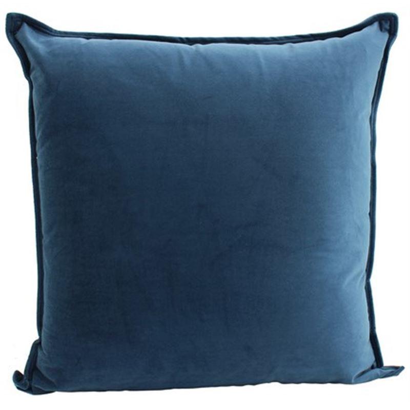 Velvet Cushion Ocean 55x55cm