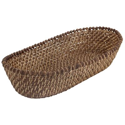Baya Bread Basket Honey 41x19cm