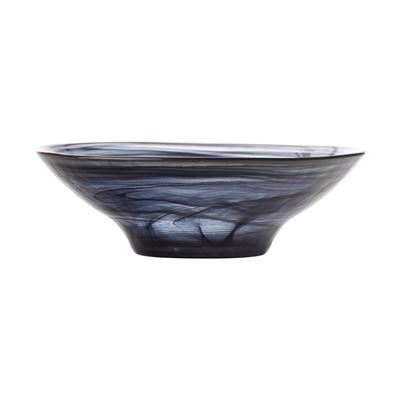 Marblesque Bowl 13Cm Black