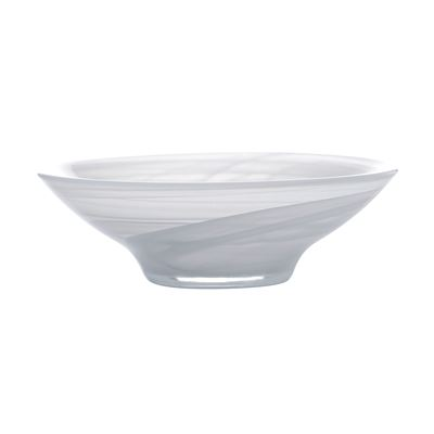 Marblesque Bowl 13Cm White