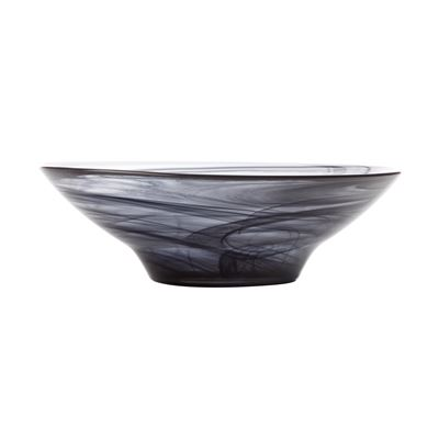 Marblesque Bowl 19Cm Black