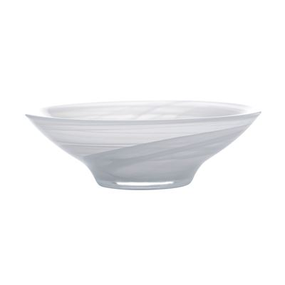 Marblesque Bowl 19Cm White