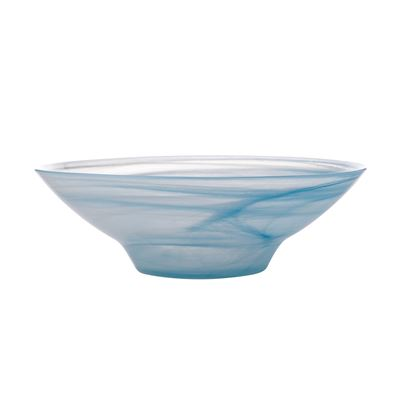 Marblesque Bowl 26Cm Blue