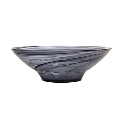 Marblesque Bowl 32Cm Black