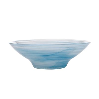 Marblesque Bowl 32Cm Blue