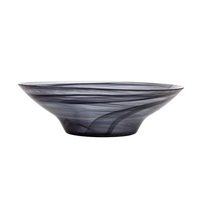 Marblesque Bowl 37Cm Black