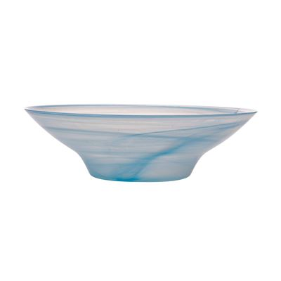Marblesque Bowl 37Cm Blue