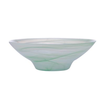 Marblesque Bowl 37Cm Mint