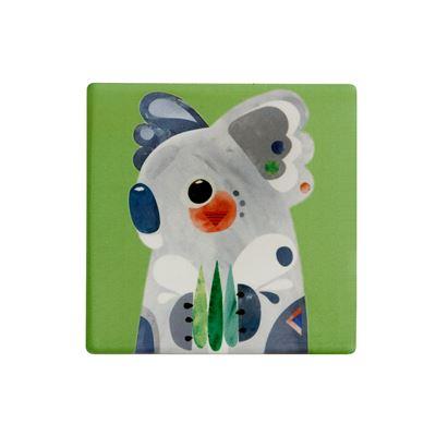 Pete Cromer Ceramic Coaster 9.5cm Koala