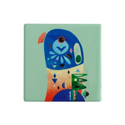 Pete Cromer Ceramic Coaster 9.5cm Lorikeet