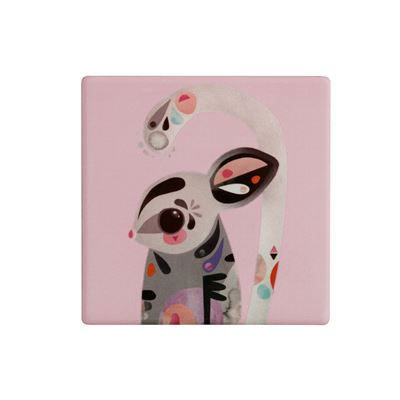 Pete Cromer Ceramic Coaster 9.5cm Sugar Glider