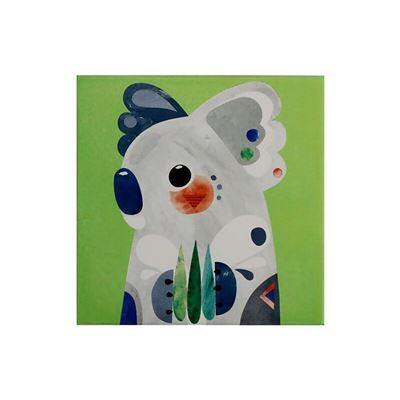 Pete Cromer Ceramic Square Trivet 20cm Koala