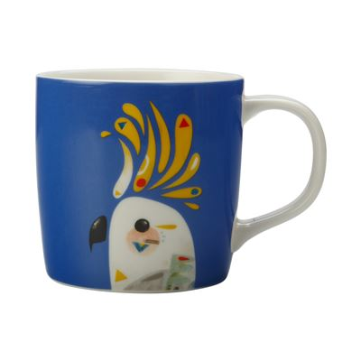 Pete Cromer Mug 375Ml Cockatoo Gb