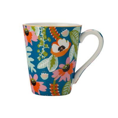 Teas & C's Glastonbury Mug 360Ml Alpinia Teal