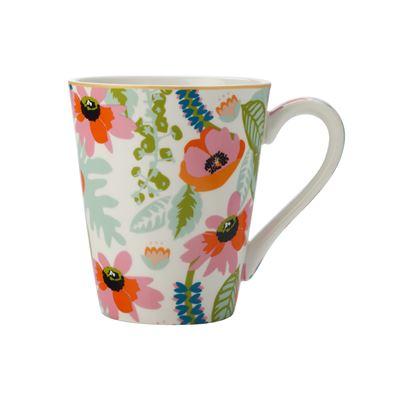 Teas & C's Glastonbury Mug 360Ml Alpinia White