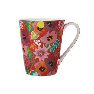 Teas & C's Glastonbury Mug 360Ml Poppy Red