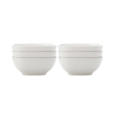 White Basics Sq Bowl Small S6 Gb