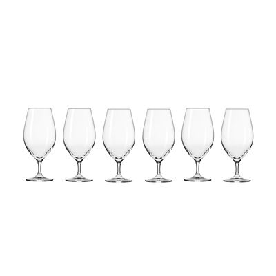 Harmony Beer Glass 400Ml 6Pc