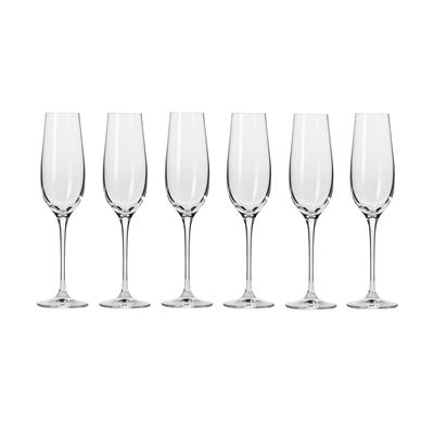 Harmony Champagne Flute 180ml 6Pc