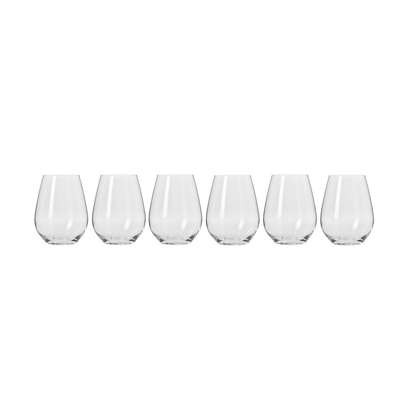 Harmony Stemless Wine Glasses 400Ml 6Pc