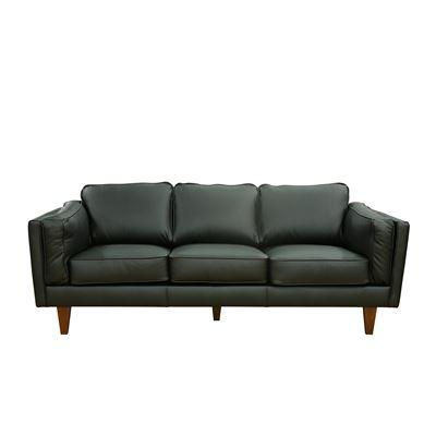 Greenville 3 Seater Sofa Black