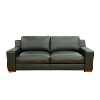 Charleston 3 Seater Sofa Black