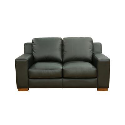 Charleston 2 Seater Sofa Black