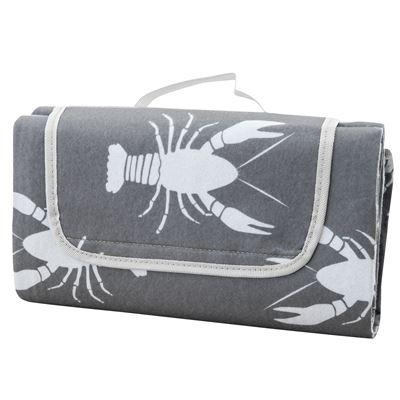 Crayfish Picnic Rug Taupe