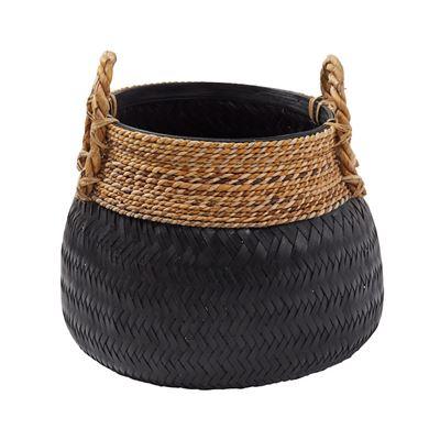 Bambu Basket 47x47cm Black