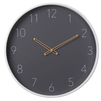 Miller Wall Clock  53cm  Whi