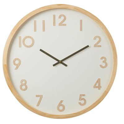 Leonard Wall Clock 61cm Natural