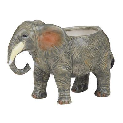 Bernie Elephant Pot 13x18cm