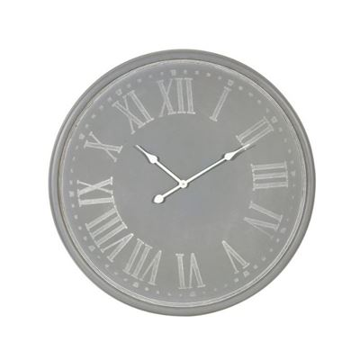 Lillian Wall Clock Grey
