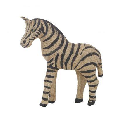 Zaidi Zebra Sculpture