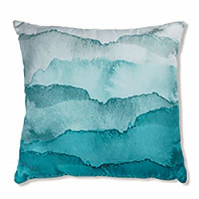 Tide Aqua Outdoor Cushion 50Cm