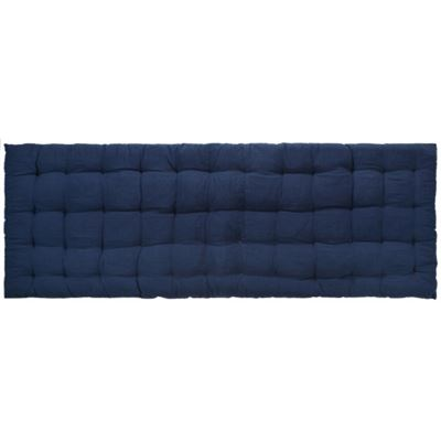 Quilted Benchpad 120x45cm - Navy