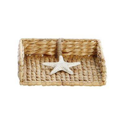 Genoa Natural Basket Weave Napkin Holder