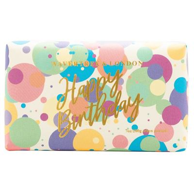 Happy Birthday Confetti Soap 200g