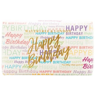 Happy Birthday Wrapping Paper Soap 200g