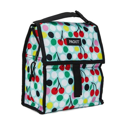 Freezable Lunch Bag - Cherry Dots