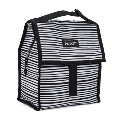 Freezable Lunch Bag - Wobbly Stripes