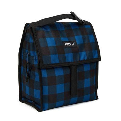 Freezable Lunch Bag - Navy Buffalo