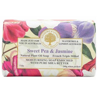 Sweet Pea & Jasmine Soap 200g