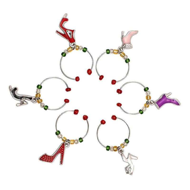 Wine Charms – Shoes Set of 6