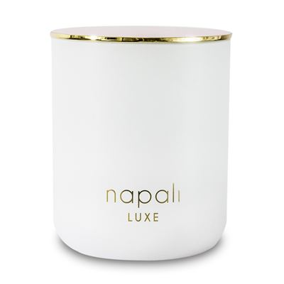 Dakota 300gm Luxe Candle (White/Gold)