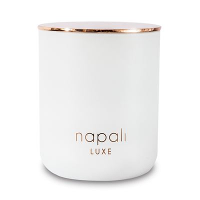 Charlie 300gm Luxe Candle (White/RoseGold)